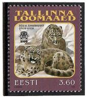 Estonia 1999 . Tallinn Zoo (Snow Leopard). 1v: 3.60.   Michel # 340 - Estonia