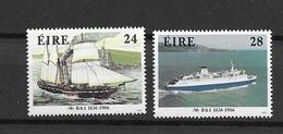 1986 MNH Ireland, Michel 599-600  Postfris** - 1949-... Republic Of Ireland