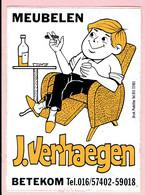 Sticker - MEUBELEN J. Verhaegen - BETEKOM - Stickers