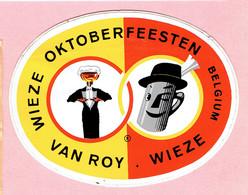 Sticker - WIEZE OKTOBERFEESTEN Belgium - VAN ROY WIEZE - Stickers