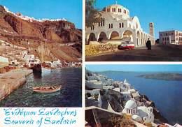 Greece Souvenir Of Santorin Island  3 Wheels Car Oldtimer     Barry 4526 - Griechenland