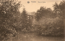 Franière étang Et Château - Belgique