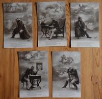 Napoléon Bonaparte / Napoléon 1er - Série Incomplète De 5 CPA - Regina -  (n°16912) - Historia