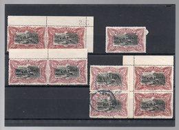 CONGO - COB 69 - 7 (X) + 2 Obl - Variétés De Nuances / Shades - Planches - Fumée Blanche / Noire - Cote 75.00 - KV2 - 1894-1923 Mols: Used