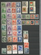 "Switzerland 1920-30er Lot Twelve Sets ""Pro Juventute""  Mint Never Hinged Xx - Switzerland"
