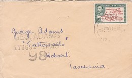 FIJI - ENVELOPE CIRCULATED FROM SUVA TO HOBART, TASMANIA, IN 1951. -LILHU - Fidji (...-1970)