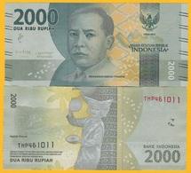 Indonesia 2000 Rupiah P-155c 2016(2018) UNC Banknote - Indonesia