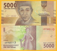 Indonesia 5000 Rupiah P-156b 2016(2017) UNC Banknote - Indonesia