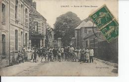 CAGNY   Sortie De L'usine DENEUX  1917 - Autres Communes