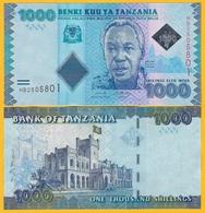 Tanzania 1000 Shillings P-41 2019 New Signature UNC Banknote - Tanzania
