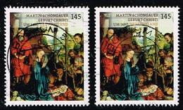 Bund 2015, Michel # 3184 O   Schätze Aus Deutschen Museen: Martin Schongauer - BRD