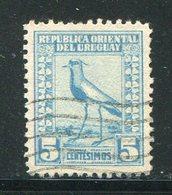 URUGUAY- Y&T N°264- Oblitéré (oiseaux) - Uruguay