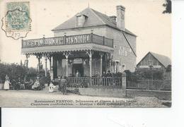 COULIBOEUF   Restaurant FANTOU  1905 - Autres Communes