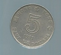 5 DOLLAR 1981 HONGKONG    Pieb 21401 - Hongkong