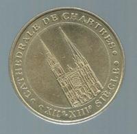 Cathedrale De Chartres , Monnaie De Paris , Collection Nationale , Médaille Officielle  , 2000   Pieb 21407 - Monnaie De Paris