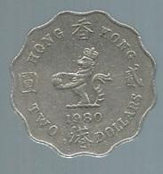 Hong Kong - Elizabeth II - 2 Dollars - 1980   Pieb 21604 - Hongkong