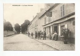 95 - MOISSELLES - Restaurant Gauditiabois - Militaires - Moisselles