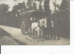 BEAUMESNIL   Comercant Ambulant Avec Attelage Carte Photo - Beaumesnil