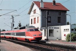 Arc Et Senans Canton Quingey Gare Train TGV Dole Moucgard - Altri Comuni