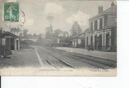 TORIGNI SUR VIRE   La Gare  1910 - France
