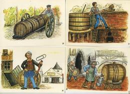 Stella Artois ( Bier - Bières )    Format 15 X 10.5 Cm    (  5 Items ) - Commerce
