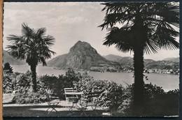°°° 16327 - SVIZZERA - TI - LUGANO - MONTE S. SALVATORE - 1960 With Stamps °°° - TI Ticino