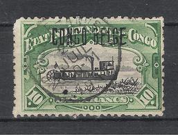 """Congo Belge COB N°39 Surchargé Oblitéré """"Nouvelle Anvers"""" - Belgian Congo"""