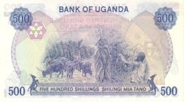 UGANDA P. 25 500 S 1986 UNC - Uganda