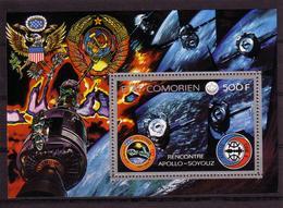 SPACE - COMORES - S/S MNH - Spazio