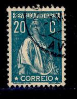 ! ! Portugal - 1923 Ceres 20 C (Perf. 12 1/2) - Af. 254 - Used - 1910 - ... Repubblica