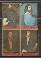 Manama - Tiziona Bloc De 4 Timbres - Peinture - Année 1972  996 à 999 - Manama