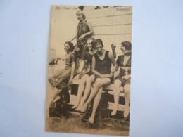 Heyst S/Mer Baigneuses Baadsters Cabine Star De Graeve Circulée Gelopen 1926 - Heist