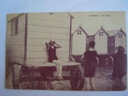 Ostende Oostende Les Bains Baigneuses Baadsters Animée Plage Cabines Le Bon Circulée Gelopen 1912 - Oostende
