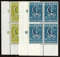 NTH SC #441-2 MNH B4 1966 Europa CV $3.40 - Period 1949-1980 (Juliana)