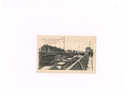 Herbesthal.Brücke über Die Bahnstrecke Cöln-Aachen-Brüssel-Paris.Expédié En Feldpost à Dusseldorf. - Lontzen