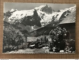 MASSIF DE LA MEIJE Vu Du Chazelet La Brèche Et Le Glacier - Autres Communes