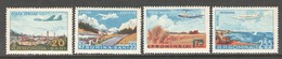 Roemenie, Mi Luchtpost 1626-29 Jaar 1956, Postfris Zonder Plakker (MNH) - 1948-.... Repúblicas