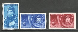 Roemenie, Mi Luchtpost 1962-64 Jaar 1961, Postfris Zonder Plakker (MNH) - 1948-.... Repúblicas