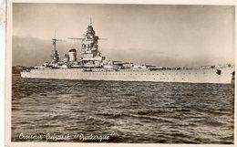 Marine De Guerre  -  'Dunkerque'  -    Croiseur-Cuirasse  -   CPA - Krieg