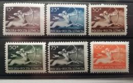 Pologne 1948 Y&T N°18-23 * Centaure - Poste Aérienne