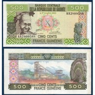 Billet Guinée 500 Francs 1960 - Guinée