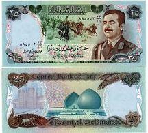 Billet IRAK  25 Dinar - Iraq
