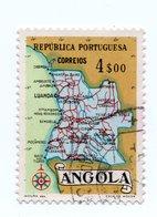 ANGOLA»1955»MICHEL AO 397»USED - Angola