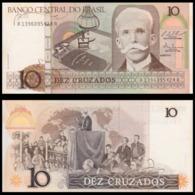 Billet Brésil  10 Cruzados - Brazil