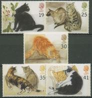 Großbritannien 1995 Katzen 1544/48 Postfrisch - 1952-.... (Elizabeth II)