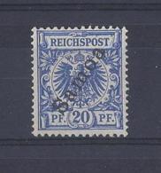 "GERMANY....SAMOA..........""1900."".......20pt........SGG4........MH.. - Colony: Samoa"
