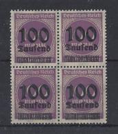 "GERMANY......WEIMAR..."" 1923."".....SG286........BLOCK OF 4........MNH..... - Neufs"