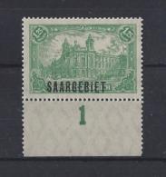 """GERMANY......SAAR...."""" 1920 """"......SG46....MARGINAL.......MNH..... - Allemagne"""