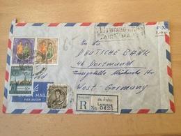 GÄ26291 Thailand 1965 R-Brief Von Lampang Nach Dortmund - Tailandia
