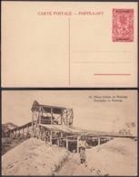 Ruanda-Urundi - Entier Postal 1 Fr En Carte Postale. Nr. 38-Vue: Mines D'étain Au Katanga...............(DD) DC6104 - Entiers Postaux